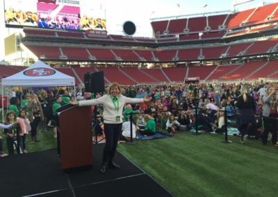 Girl Scout Cookie Top Sellers Sleep-Over Levi's Stadium
