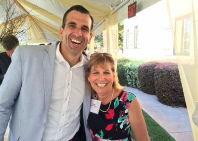 San Jose Mayor Sam Liccardo- CancerCAREpoint Garden Party